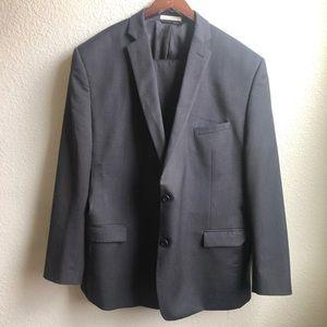 Joseph Abboud dark Gray suit jacket and pants